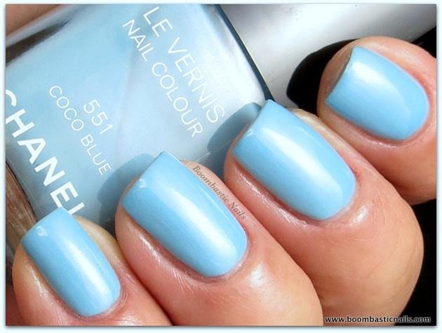 Chanel Coco Blue - 3 coats