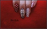 Minnie Mouse with dots