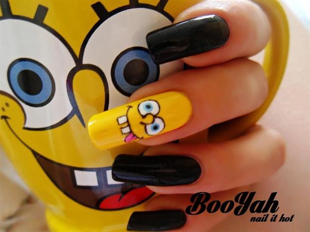 Spongebob Nail Art Gallery