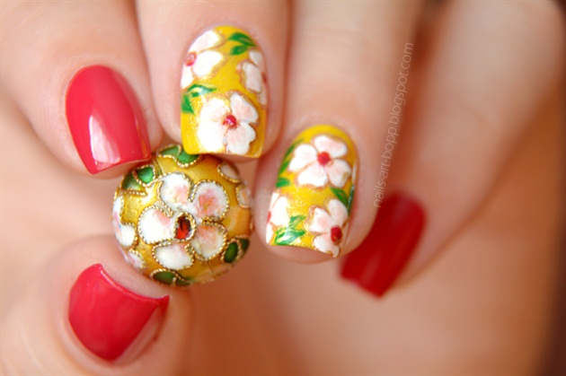 Bead inspired nails