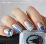 Simple Striping Tape Manicure