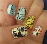 Cute Snoopy Small Footprint
