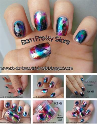 Born Pretty Store - Foil #13 - Colorful