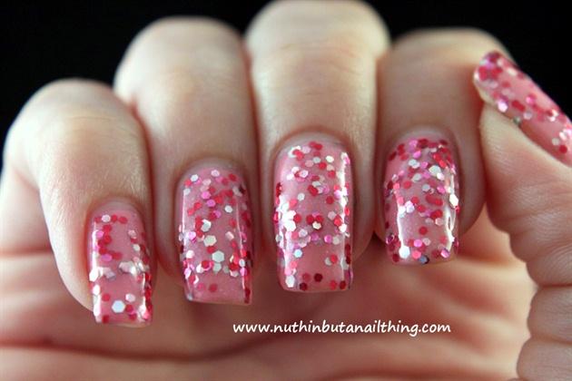 Candy Color Glitter Sparkle YogurtPolish