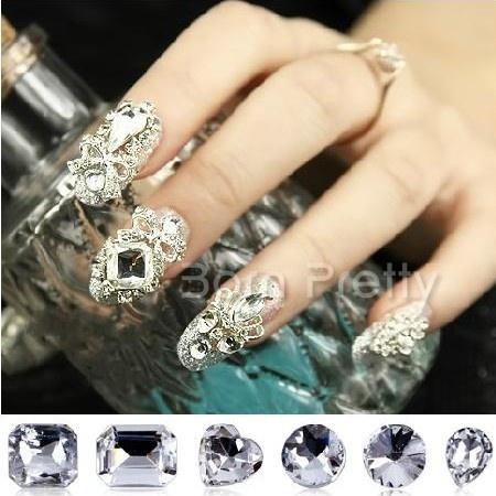 Shiny Clear Crystal Rhinestones