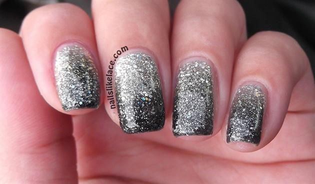 Glitter Gradient Polish