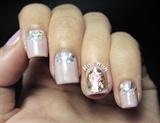 3D Nail Art Sticker Luxury Gem Embossed