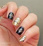 Gold squares / Cuadrados dorados