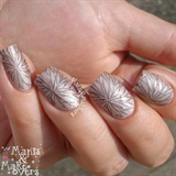Leaf Stamping Nails