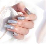 Holographic polish nails