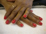 wildfire shellac manicure