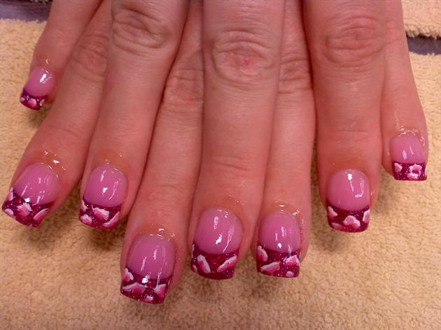 pink camo - Pink Camo - Nail Art Gallery