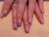Andrea's Birthday nails
