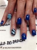 Blue Marbeling