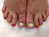 Spring Fling Toes