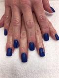 Blue Matte Topcoat