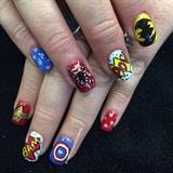 Superhero Nails 2015