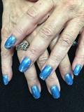 Blue And A Little Glitter
