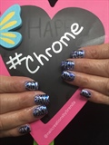 Chrome Flowers
