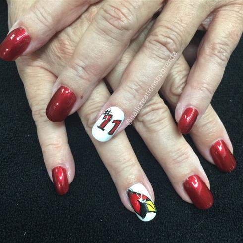 Az Cardinals Nail Art Gallery