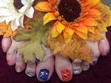 Halloween Toes