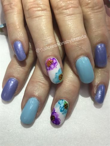 Sharpie Art Flowers