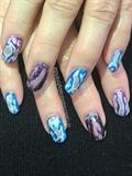 Geode Burst Nails