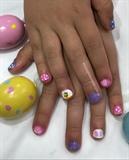 Little Berkeley's Easter Nails