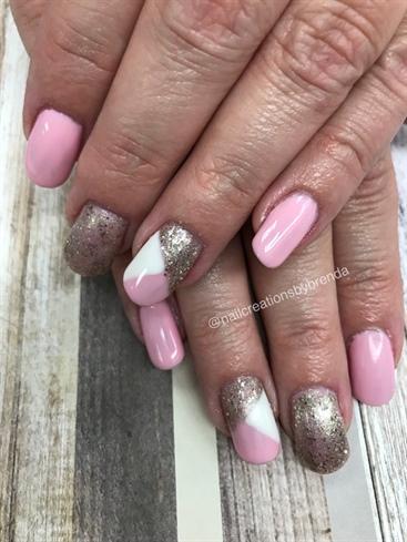 Baby Pink N Glitter