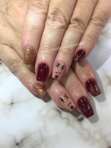 rudolph nails  nail art gallery