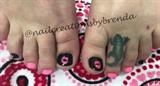 Valentine toes