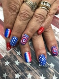 Fourth of July sharpie art