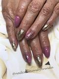 Rosebud and gold