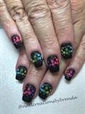 Rainbow polkadots