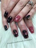 Fall Plaid Nails
