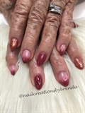 Pink Mauve Ombre