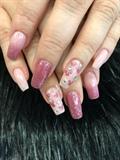 Girly Disney nails