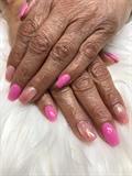Pink Glitter Ombré