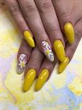 Sunshine yellow and flowers
