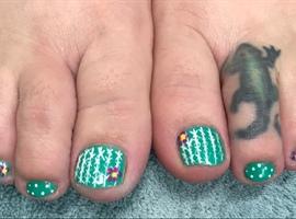 Cactus toes