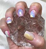 #2 Pastel Water Marbling