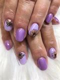 Matt lavender floral design