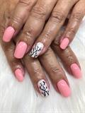 Peach rose buds