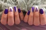 Purple And Polkadots #2