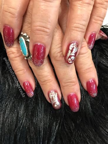 44th anniversary nails