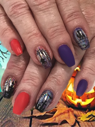 My Halloween 2019 Nails