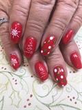 Christmas polkadots