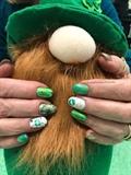 Saint Patrick's day nails 2020