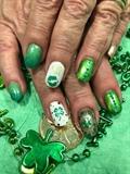 Saint Patties Day Nails 2020 #2