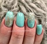 Ombré Glitter Nails #2